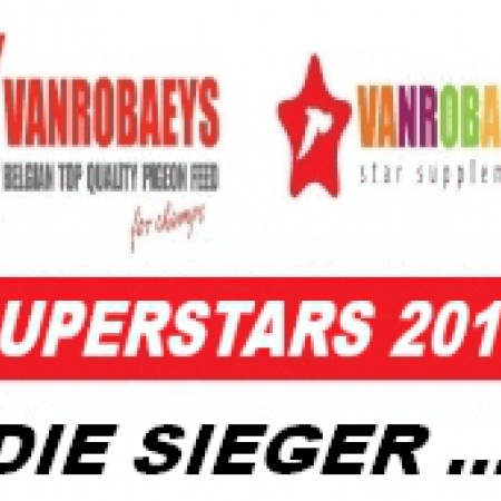Endstand: VANROBAEYS SUPERSTARS 2018 –